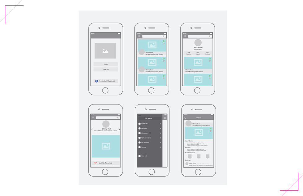 taste-recipes-app-wireframe